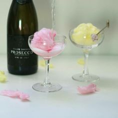 It's never too early to celebrate with candy floss and fizz is it? I mean it's never too early for prosecco! Ever!