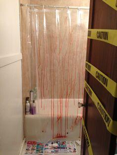 scary bathroom scene