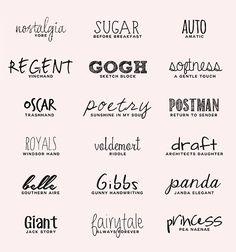 "Favorite ""handwriting/handwritten"" fonts (resource list)"