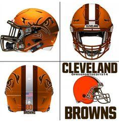 Go Browns College Football Helmets, Nfl Football Players, Football Uniforms, Sport Football, Go Browns, Professional Football Teams, Helmet Logo, Cleveland Browns, Cleveland Indians