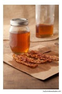 Bacon infused bourbon. Not sure there's a better combination out there..