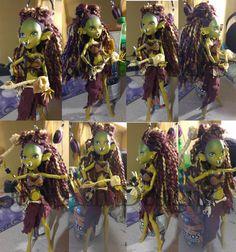 Warcraft custom Monster High doll by jedininjaprincess on @DeviantArt