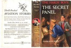 Dixon, Franklin.The Secret Panel. New York: Grosset & Dunlap, 1946.