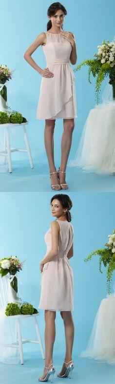 Blush Bridesmaid Dresses, Chiffon Ruffle, Illusion, Overlay, Layers, White Dress, Cocktail, Summer Dresses, Skirts