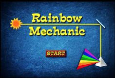 Can you direct the beam of sunlight to the prism? Use mirrors to change the direction of light. Geometry Games, Area And Perimeter, Math Games, Sunlight, Mirrors, Rainbow, Change, Rain Bow, Rainbows