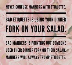 Charm Grace Quote of the Day Ladylike Manners Etiquette Rules of a Southern Belle