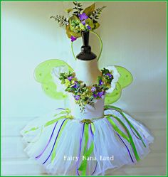 The Innocence Faerie  Child's Fairy Costume size by FairyNanaLand, $75.00