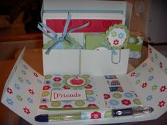 Stationary box by Ksirafos - Cards and Paper Crafts at Splitcoaststampers