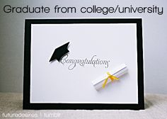 Graduate from college and obtain my masters and doctoral degree!