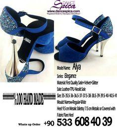 Spica Dance Shoes Elegance Series Alya Model %100 Hand Made www.dancespica.com