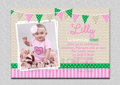 29 Best Girl S Birthday Party Invitations Images Invitations Girl