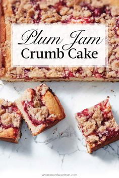 A delicious plum cake that will be the star of any brunch.