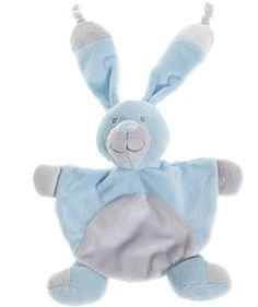 kanin sutteklut lys blå (fødselsgave fra Eva Marie & Geir Arne)