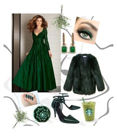 """""""Cool Green"""" by ellynzara on Polyvore featuring THP, Alexander Wang, Clarisse, G-lish and NDI"""