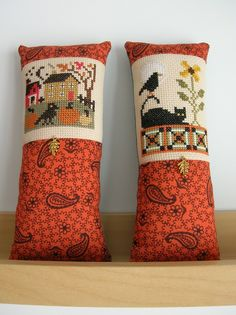 The World's Largest Collection of Smalls TOO: Fall stitches