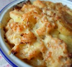 Potato, Cauliflower and Cheddar Bakefrom The English Kitchen