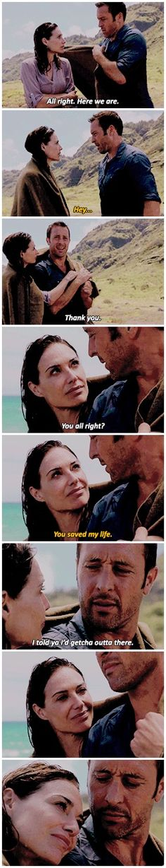 # STEVE X ALICIA  # STEVE MCGARRETT  # ALICIA BROWN  # ALEX O'LOUGHLIN  # CLAIRE FORLANI  # HAWAII FIVE 0  # STILL NOT SURE HOW I FEEL ABOUT HER ADDITION TO THE CAST  # BUT I THOUGHT THIS WAS A NICE MOMENT  # BECAUSE IF I'D JUST BEEN THROUGH THAT EXPERIENCE  # I'D WANT TO CUDDLE WITH STEVE TOO