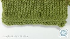 This video knitting tutorial will help you learn how to knit the I-cord cast on. The I-cord cast on is a way of creating a nice clean edge. It makes a nice creates a tube like the I-cord, and makes a very great finished piece. The I-cord cast on is the prefect complement for the I-cord bind off. This technique adds a great professional level to your work.