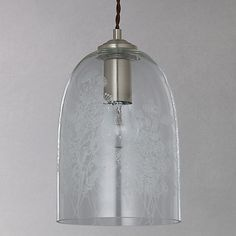Buy john lewis easy to fit madison glass pendant shade from our view buy john lewis madeline etched glass pendant ceiling light clear online at johnlewis mozeypictures Images
