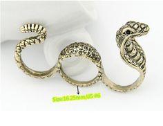 R1565-Nice-New-Fashion-Charm-Women-Jewelry-Vintage-Bronze-Three-Finger-Rings-HOT