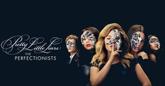 Pretty little liars : The perfectionists - Pause café avec Audrey The Perfectionists, Pretty Little Liars, Le Couple Parfait, Pll, Girls, Movie Posters, Collage, Caricatures, Characters