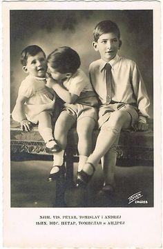 All sizes | Kinder des König Alexander I. und der Königin Marie von Jugoslawien | Flickr - Photo Sharing!