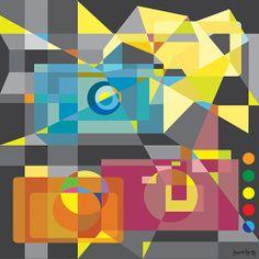 """Tourist"" - Joanie Fong Designs"