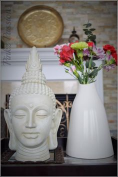 Buddha décor, Indian home decor #IndianHomeDecor