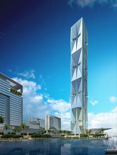 Wind Tower, Jeddah - SOM (120flr)