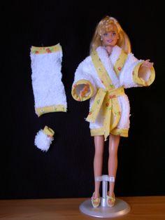 Peignoir éponge : collection 2001