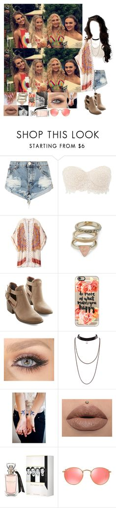 """""""Celebrating Perrie's Birthday"""" by beautifulwonderland ❤ liked on Polyvore featuring One Teaspoon, Charlotte Russe, Theodora & Callum, GUESS, BC Footwear, Casetify and Ray-Ban"""