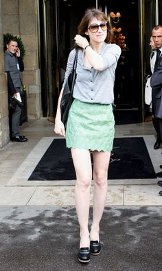 Charlotte Gainsbourg.