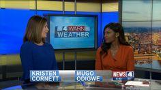 Kristen Cornett & Mugo Odigwe on News 4, 2017