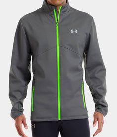 Under Armour Men's ColdGear® Infrared Storm Run Jacket. More style news, suit reviews, tips & tricks and coupons at www.indochino-review.com #IndochinoReview
