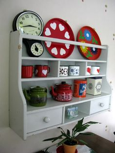 Kitchen retro display