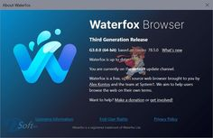 Waterfox est un navigateur de haut niveau. Il est basé sur le code source de Firefox / Télécharger Waterfox Gratuit pour Windows, Mac et Linux Windows Xp, Linux, Navigateur Internet, Best Bookmarks, Pop Up Blocker, Saved Passwords, Mac, Password Manager, Free News