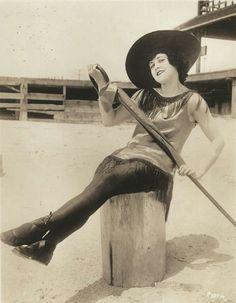 Marie Prevost in her Mack Sennett day's, c.1916s.