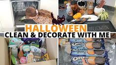 #halloween #cleanmotivation #halloweendecor Halloween Inspo, Oreo, Halloween Decorations, Vanilla, Cleaning, Pink, Home Cleaning, Pink Hair, Roses