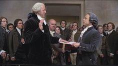 Johh Adams Miniseries. Inauguration of George Washington