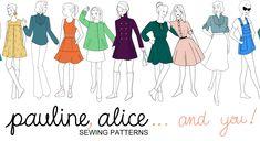 Flamenca parte del vestido 3 - mangas | Pauline Alice - Los patrones de costura, clases particulares, ropa hecha a mano y la inspiración