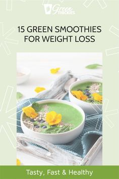 I've chosen my very best green smoothies for weight loss recipes that are also super fast, incredibly healthy and SO tasty you'll not even notice the color.