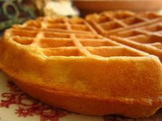 Rich Buttermilk Waffles. I make this gluten free by substituting the flour for 219 grams of g/f flour. I used Pamela's Artisan Flour Blend. Yummy!