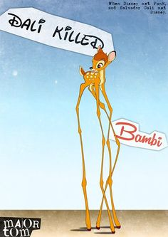 Disney, Punk and Dalì | who killed bambi?