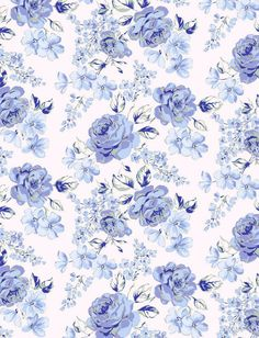Pattern, flowers, nature, background