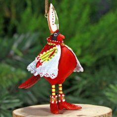 Mini Cardinal Ornament