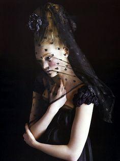 Gemma Ward by Mario Sorrenti for Vogue Italia, September 2005