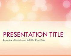 Plantilla PowerPoint con Brillo