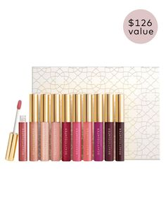 Beauty Counter Mini Lip Gloss Vault $89