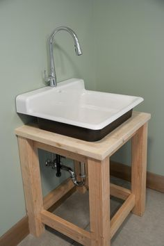 Sink In Blog Cabin S Mudroom Garage Laundry Tubs Room Bat