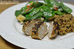 Cajun Spiced Grilled Chicken - Supper for a Steal
